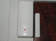 Intruder alarm installation